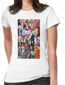 Sassy Boa Gerard Way Womens Fitted T-Shirt