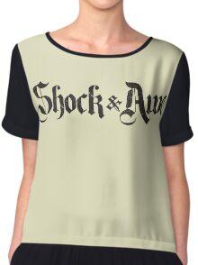 Shock & Awe Chiffon Top
