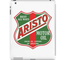Aristo Motor Oil vintage sign reproduction iPad Case/Skin