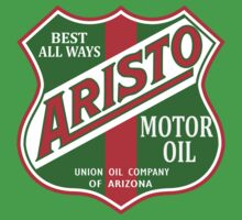 Aristo Motor Oil vintage sign reproduction Kids Tee