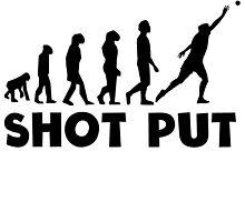 Shot Put Evolution by kwg2200