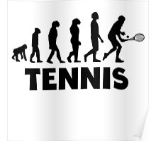 Tennis Evolution Poster
