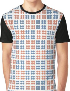 Simple abstract pattern. Seamless hand drawn dots background. Graphic T-Shirt