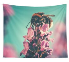 Pregnant Flora Wall Tapestry