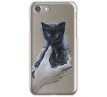 The safest place to be iPhone Case/Skin