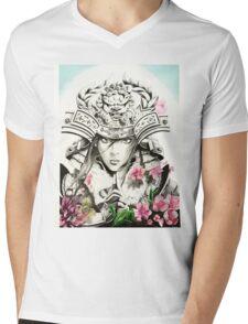Samurai Empress Mens V-Neck T-Shirt