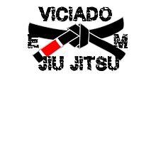 Brazilian Jiu jitsu Addict - BJJ Black Belt Photographic Print