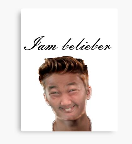 do you love Justin? Canvas Print