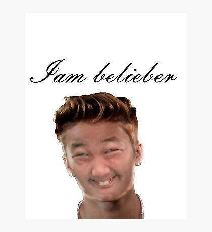 do you love Justin? Photographic Print