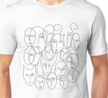 Faces Unisex T-Shirt