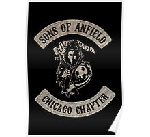 Sons of Anfield - Chicago Chapter Poster