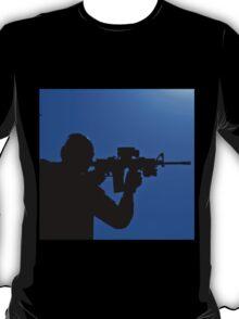 Shooting silhouette T-Shirt