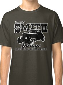 Mrs.& Mr. Smith Hot-Rod Garage Classic T-Shirt