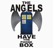 The Angels Have The Phonebox - Doctor Who Baby Tee