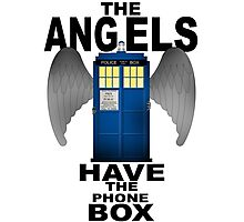 The Angels Have The Phonebox - Doctor Who Photographic Print