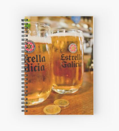 100 Percent Family Owned Brewery - Estrella Galicia Spiral Notebook