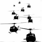UH1 Huey Helicopters by thesamba