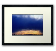 NYC Clouds  Framed Print