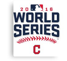 Cleveland Indians Champions World Series 2016 Canvas Print