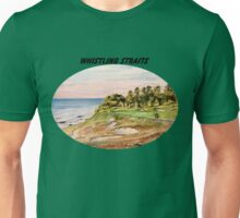 Whistling Straits Golf Course With Banner Unisex T-Shirt