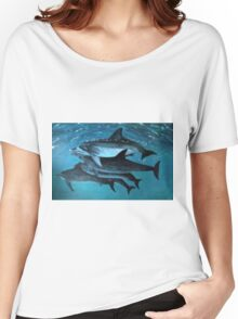 ATLANTIC DOLPHINS Women's Relaxed Fit T-Shirt