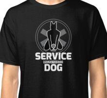 Nerdy Doggo Service Dog Classic T-Shirt