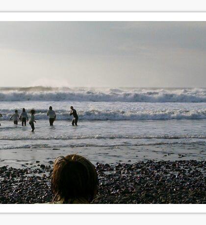 SURF SCHOOL CROOKLETS BEACH BUDE NORTH CORNWALL Sticker