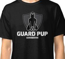 Nerdy Doggo Guard Pup Classic T-Shirt