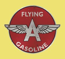 Flying A Gasoline rusted version Kids Clothes