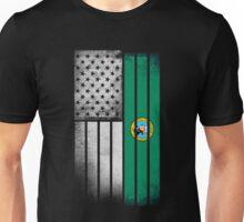 USA Vintage Washington State Flag Unisex T-Shirt