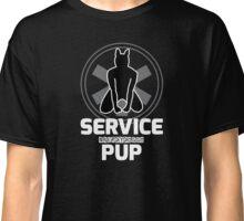 Nerdy Doggo Service Pup Classic T-Shirt