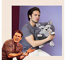Chris Evans & Sebastian Stan  Photographic Print