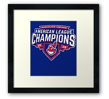 Cleveland Indians Champions World Series 2016 Framed Print