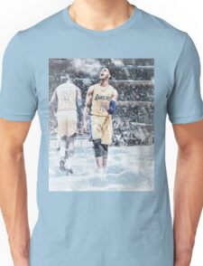 D'Angelo Russell Ice In My Veins Basketball Artwork Los Angeles Unisex T-Shirt