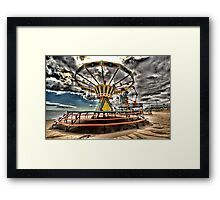 storm brewing Framed Print