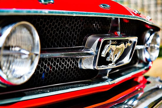 Mustang 65 grille by htrdesigns