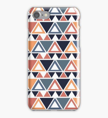 Vintage geometric  iPhone Case/Skin