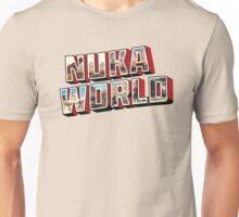 Nuka-Cola Vintage Postcard Unisex T-Shirt