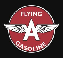 Flying A Gasoline vintage sign by htrdesigns