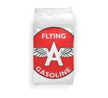 Flying A Gasoline vintage sign Duvet Cover