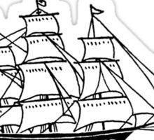 I SHIP SIZZY Sticker