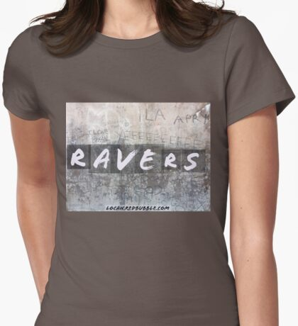 RAVERS Womens Fitted T-Shirt