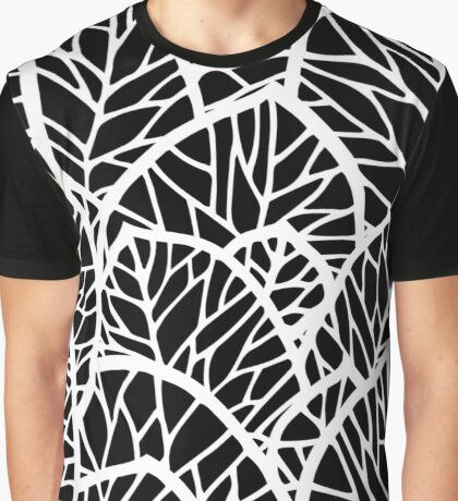 Leaves pattern Graphic T-Shirt