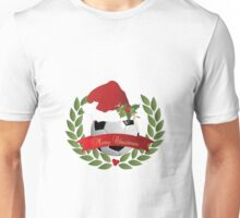 Christmas Soccer Ball Unisex T-Shirt