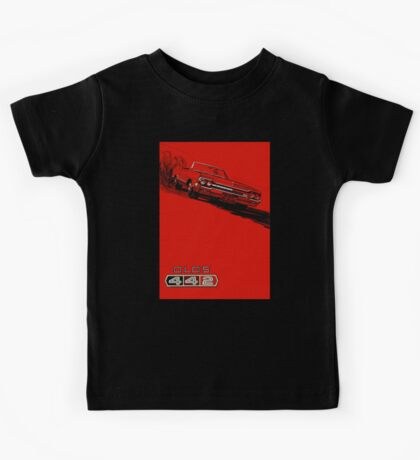 1964 Oldsmobile 442 poster reproduction Kids Tee