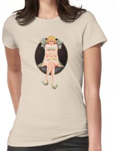 Spicy Pretty Girl retro Womens Fitted T-Shirt