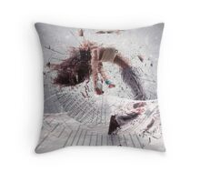 I'm Not Waiting for Superman Throw Pillow