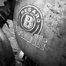Pesaro Benelli vintage motorcycle by htrdesigns