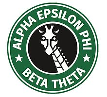 AEPhi Starbucks Logo by ticklmekelmo