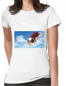 Super Guinea Pig Womens Fitted T-Shirt